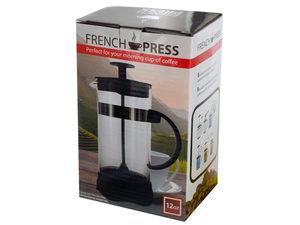 Wholesale: 12 oz. French Press Coffee Maker