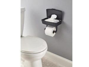 Wholesale: Delta Porter Oil Rubbed Bronze Toilet Paper Holder with Storage Box