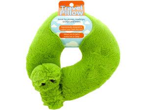 Wholesale: Plush Alligator Travel Pillow