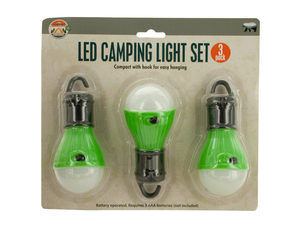 LED Hanging Camping Light Set