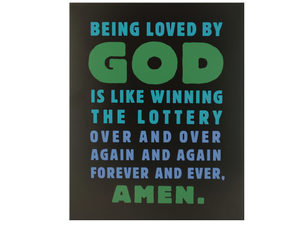 Wholesale: Loved by God Box Print Wall Art