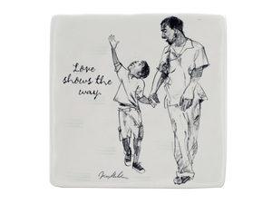 Wholesale: Love Shows the Way Ceramic Art Tile