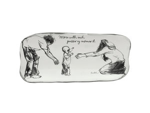 Wholesale: Each Passing Moment Ceramic Art Tray
