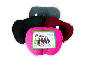 Wholesale: Personal Travel Pillow with Pull Out Hood