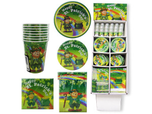 Wholesale: St. Patrick's Day Party Supply Display