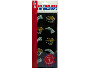 Jacksonville Jaguars Team Logo Flat Gift Wrap