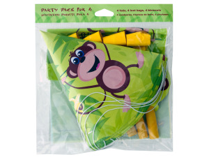 Wholesale: 12 count monkey party pack
