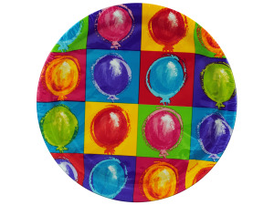 "Wholesale: 8pk 8.75"" balloon plates"
