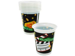 Wholesale: 8ct 16oz cups lights cam