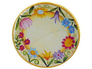 Wholesale: 8 count 9inch spring plates