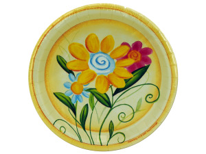 "Wholesale: 8ct 7"" spring plates"