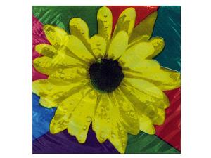 Wholesale: 16ct daisy bev napkin