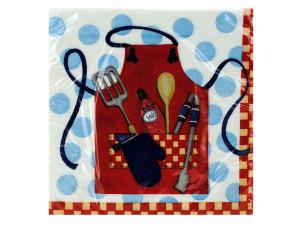 Wholesale: 18ct picnic bbq napkins