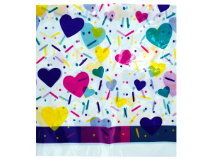 Wholesale: 48x88 bday tablecloth