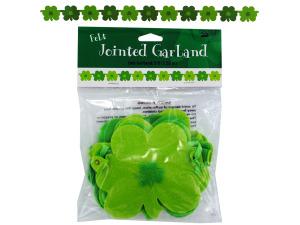 Wholesale: Shamrocks jointed garland