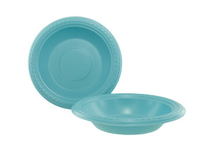 """Wholesale: 10 pack 7"""" pastel blue bowls"""
