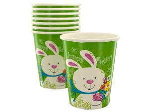 Wholesale: 8pk 9oz bunny cups