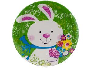 Wholesale: 8pk 6 7/8 bunny plates