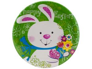 "Wholesale: 8pk 8.75"" bunny plates"