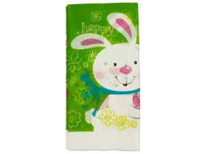 Wholesale: 54 x 108 inch plastic hoppy bunny tablecover