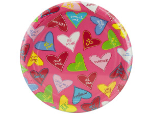 Wholesale: 8 pack 6.75 inch candy crush paper plates