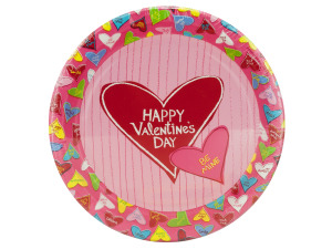 Wholesale: 8 pack 8.75 inch candy crush paper plates