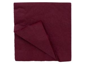 "Wholesale: 24"" burgundy napkn 673122"