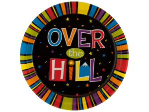 Wholesale: 8ct over the hill plates