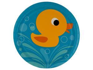 Wholesale: 8 pack lil quack plates 8 3/4 inch