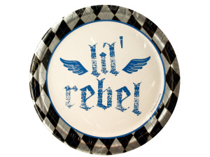 Wholesale: 8ct first rebel plates