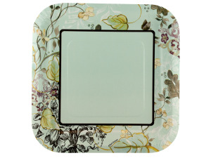 Wholesale: 8 pack meadow sweet plates 9.125 inch