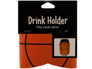 Wholesale: School spirit basketball drink koozie