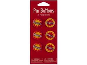 Wholesale: Big Top Winner Party Favor Buttons