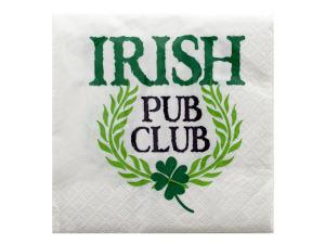 Wholesale: Irish Pub Club Cocktail Napkins Set