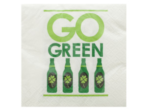 Wholesale: Go Green Irish Cocktail Napkins Set