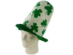 Wholesale: Shamrock Green/White Tall Hat