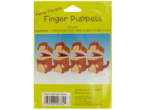 Wholesale: Monkey Finger Puppets Party Favors