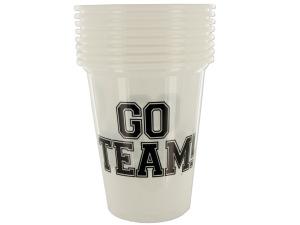 Wholesale: Go Team Plastic Party Cups