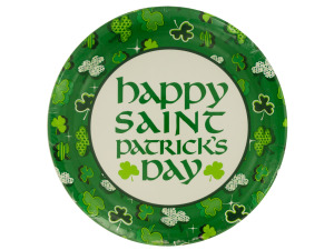 Wholesale: Shamrock Round Dinner Party Plates Set