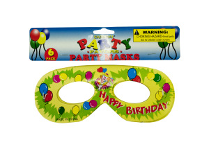 Wholesale: Birthday Party Masks