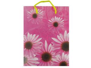 Wholesale: Bright daisies gift bag