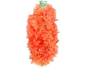 Wholesale: Orange Plastic Lei