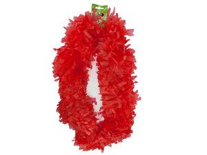 Wholesale: Red Plastic Lei