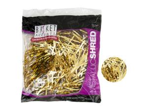 Wholesale: Large Gold Metallic Gift Shred