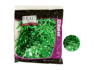 Wholesale: Large Green Metallic Gift Shred