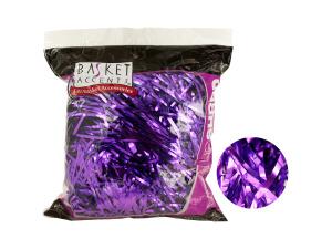 Wholesale: Large Purple Metallic Gift Shred