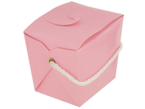 Wholesale: Mini Pink Gift Pail