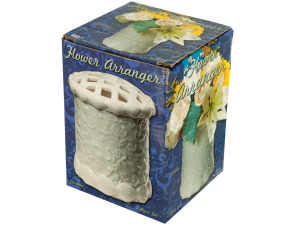 Wholesale: Decorative Ceramic Flower Arranger Vase