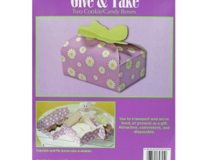Wholesale: Spring Flowers Candy & Cookie Boxes