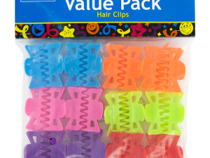 Wholesale: Colorful Hair Clips Party Favors